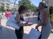 Distribution de Flyers à Grenoble